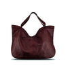Tibetan Red Washed Woven Leather Handbag - RAW002