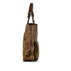 Mud Oak Washed Leather Foldable Tote - RAW003