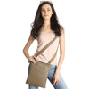 Gingersnap Leather Crossbody - A128