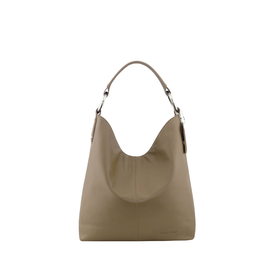 Gingersnap Leather Shoulder Bag - N11