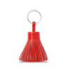 Red Leather Handbag Set With Tassel Keyring - N11PackWithKeyring
