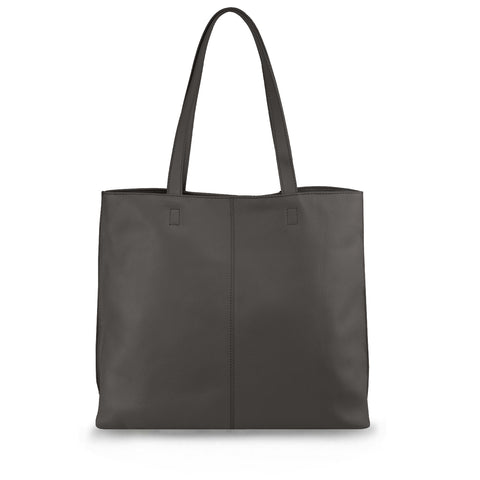 Taupe Leather Tote - MA282