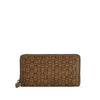 Mud Oak Washed Woven Leather Wallet - RAW008