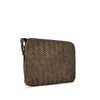Mud Oak Woven Washed Leather Crossbody - RAW007