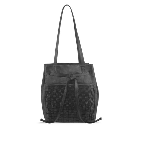 Peppercorn Washed Leather Hobo / Shoulder Bag - RAW021