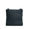 Dark Navy Washed Leather Shoulder Bag - RAW023