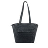 Dark Navy Washed Leather Shoulder Bag - RAW027