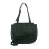 Darkseaweed Washed Woven Leather Shoulder Bag - RAW028