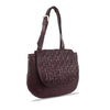 Tibetian Red Washed Woven Leather Shoulder Bag - RAW028