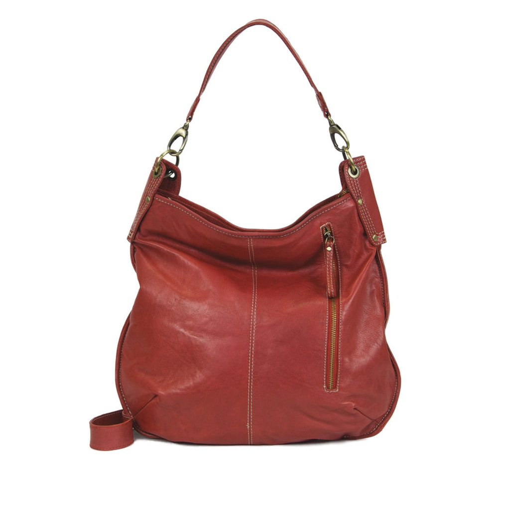 Persimmon Leather Crossbody / Shoulder Bag - A133