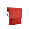 Red Leather Crossbody - A192