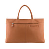 Tan Leather Folio Tote - A399