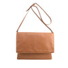 Tan Leather Messenger - F184