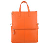 Orange Leather 3 Way Crossbody - F186