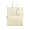 Ivory Leather 3 Way Crossbody - F186