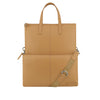 Camel Leather 3 Way Crossbody - F186