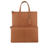 Tan Leather 3 Way Crossbody - F186