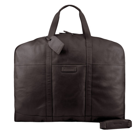 Brown Suit Bag - F189