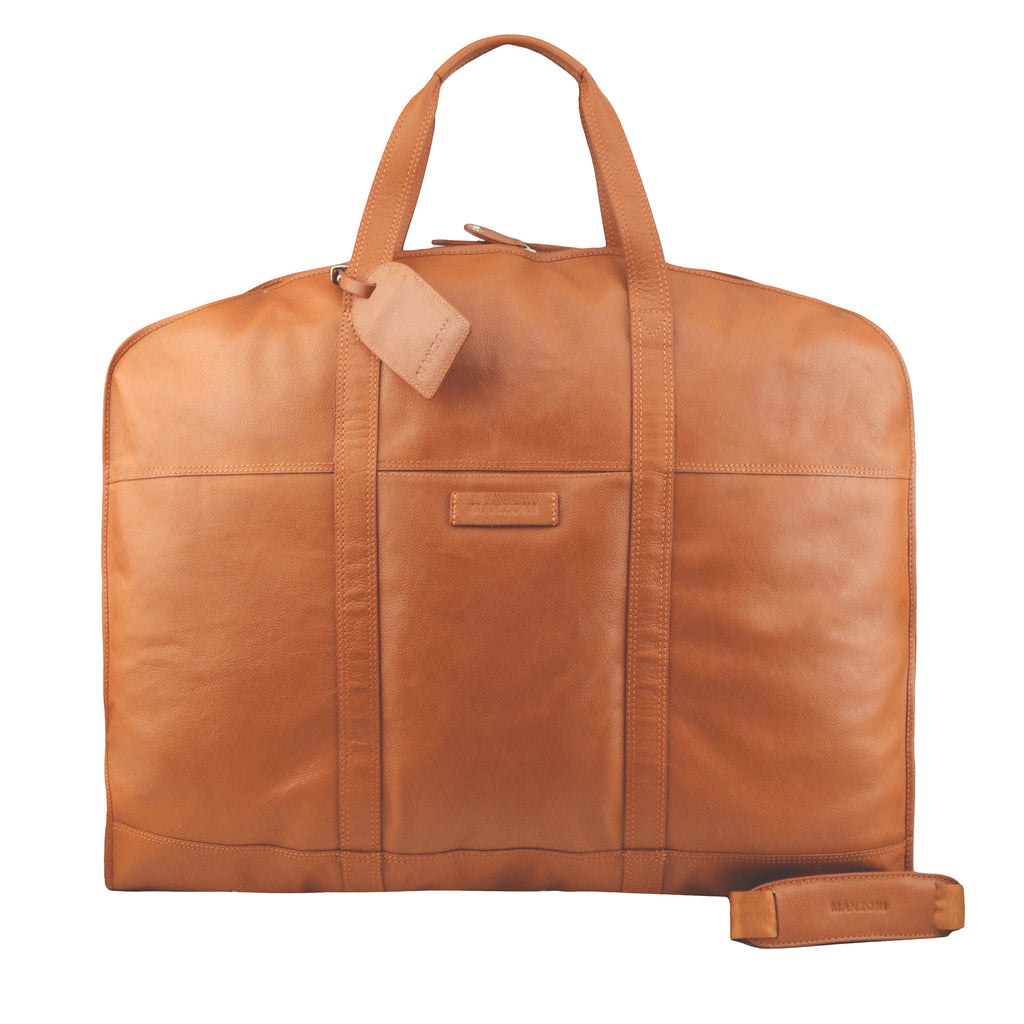 Tan Suit Bag - F189