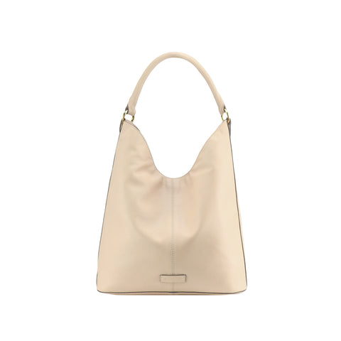 Frappe Full Grain Leather Shoulder Bag - N694