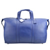 Navy Leather Weekend Travel Bag - L14