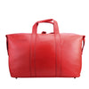 Red Leather Weekend Travel Bag - L14