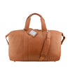 Tan Leather Overnighter - L4