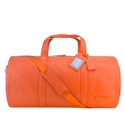 Orange Travel Bag Weekender - L77