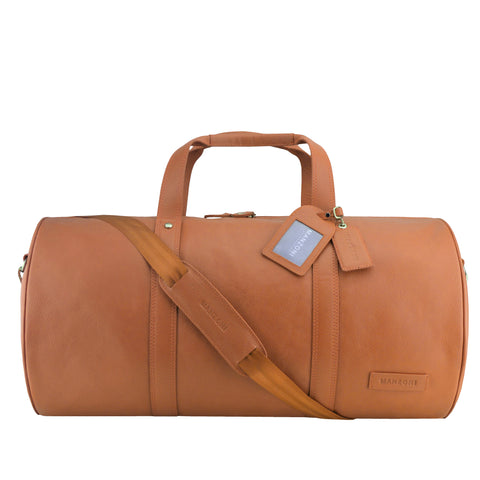 Tan Travel Bag Weekender - L77