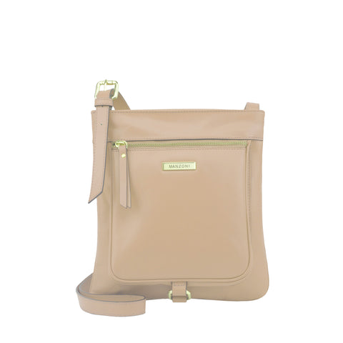 Frappe Leather Crossbody - MA026