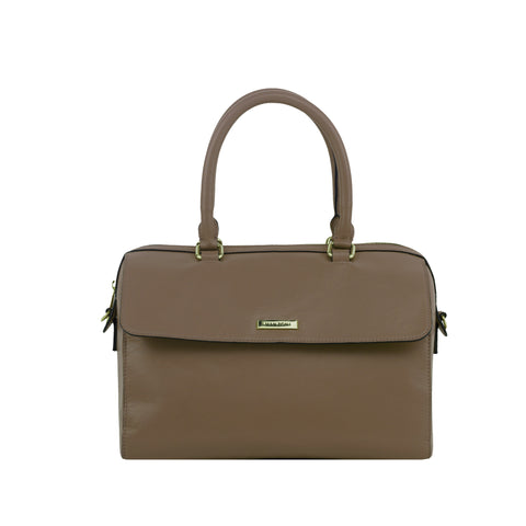 Gingersnap Leather Handbag - MA027