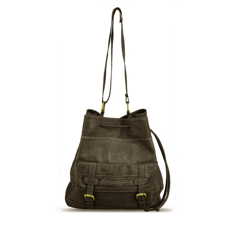 Shitake Washed Shoulder Bag - RAW004