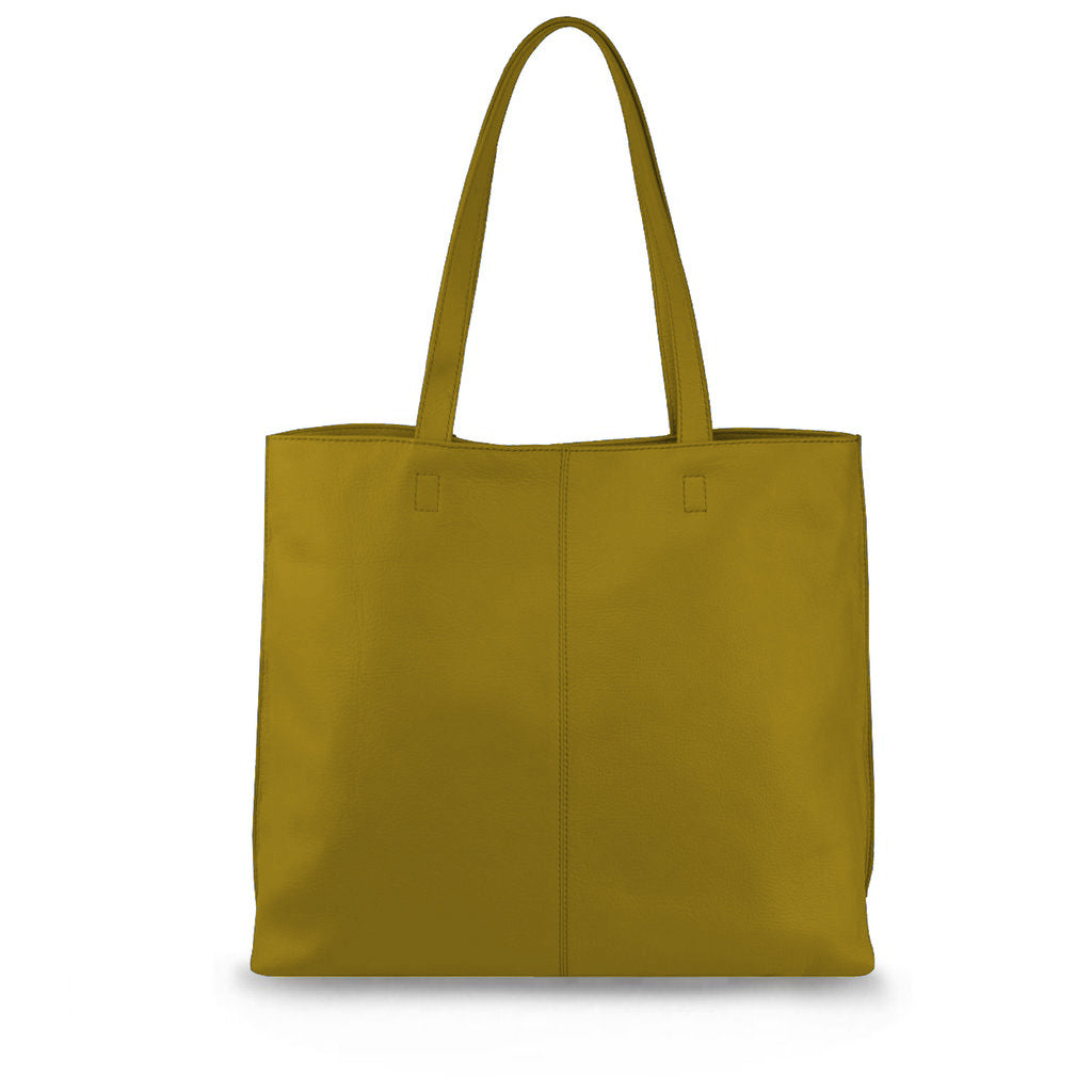 Camel Leather Tote - MA282