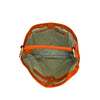 Orange Leather Shoulder Bag - N16