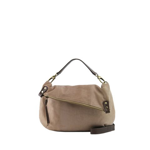 Biscuit Leather Shoulder Bag / Crossbody - N561