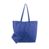 Navy Leather Tote - N578