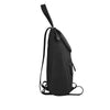 Black Leather Backpack - R107