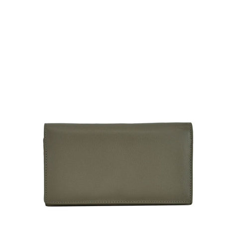 Funghi Leather Bifold Wallet - W708