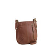 Tan Leather Crossbody - A132