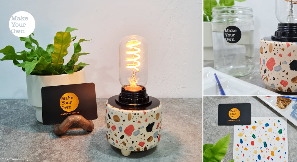 art jam paint your own lamp step by step guide