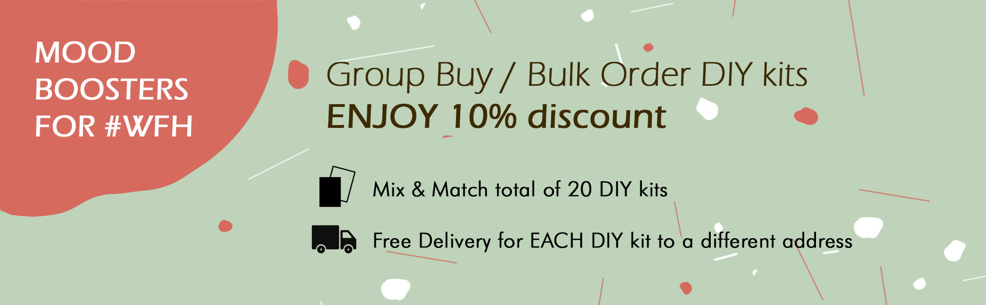 group buy bulk purchase diy kit