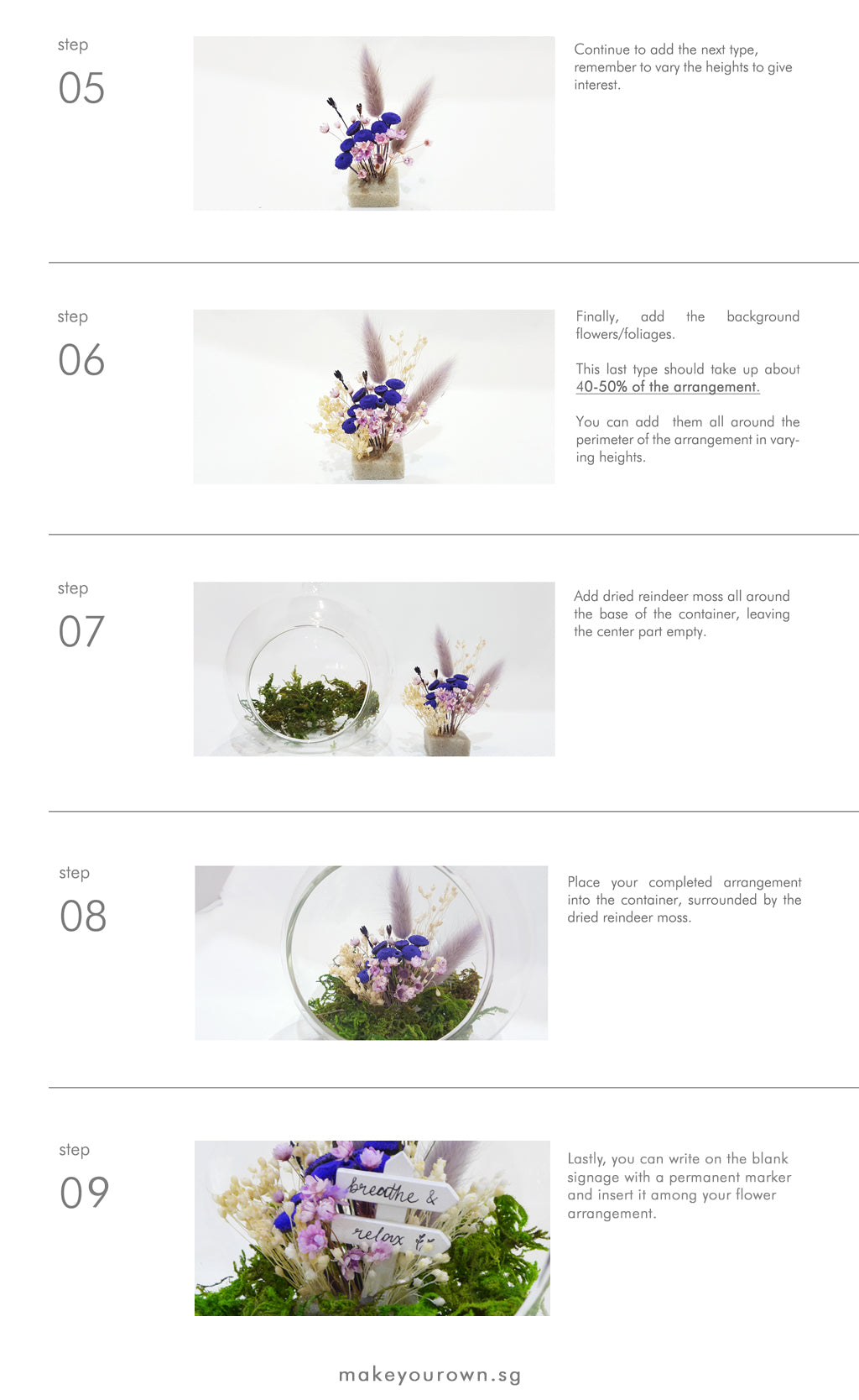 floralscape step by step guide 2