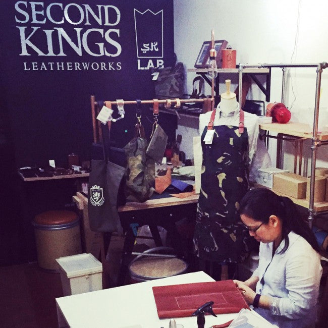 Secondkings Custom Leather Craft Workshop Singapore Make Your Own