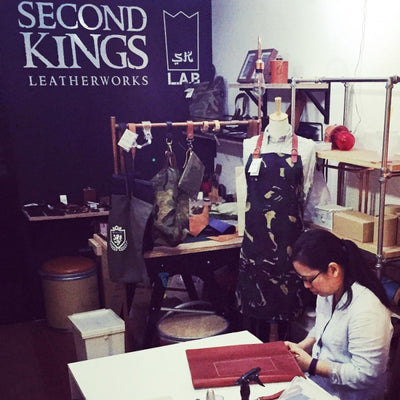 Second Kings Leather Craft Workshop Singapore