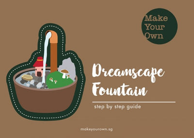 make your own fountain workshop singapore