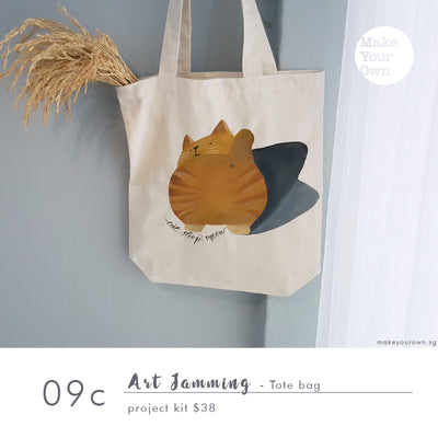 Art Jamming - Tote Bag Project Kit Workshop (appointment basis)