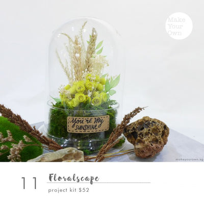 floralscape dried flowers floral arrangement workshop singapore