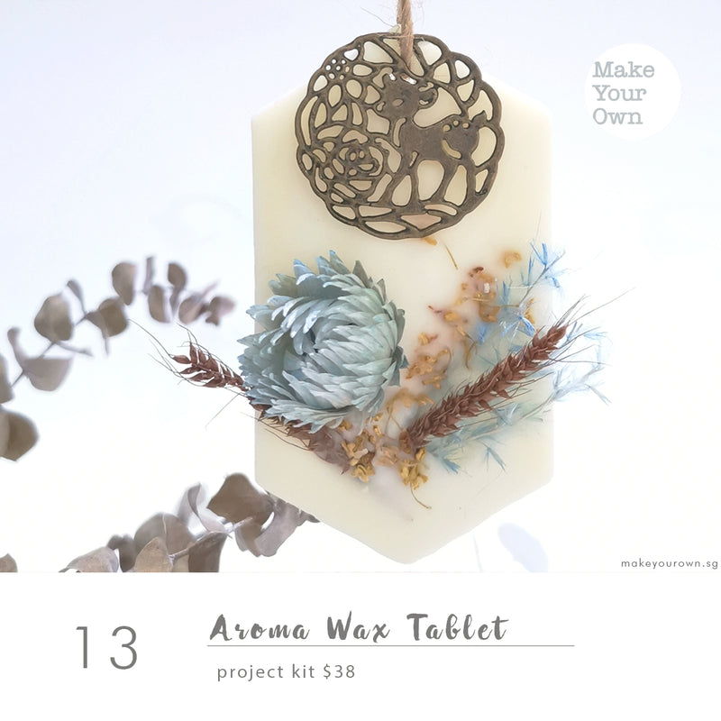 Aroma Wax Tablet (Guided) Project Kit Workshop (appointment basis)