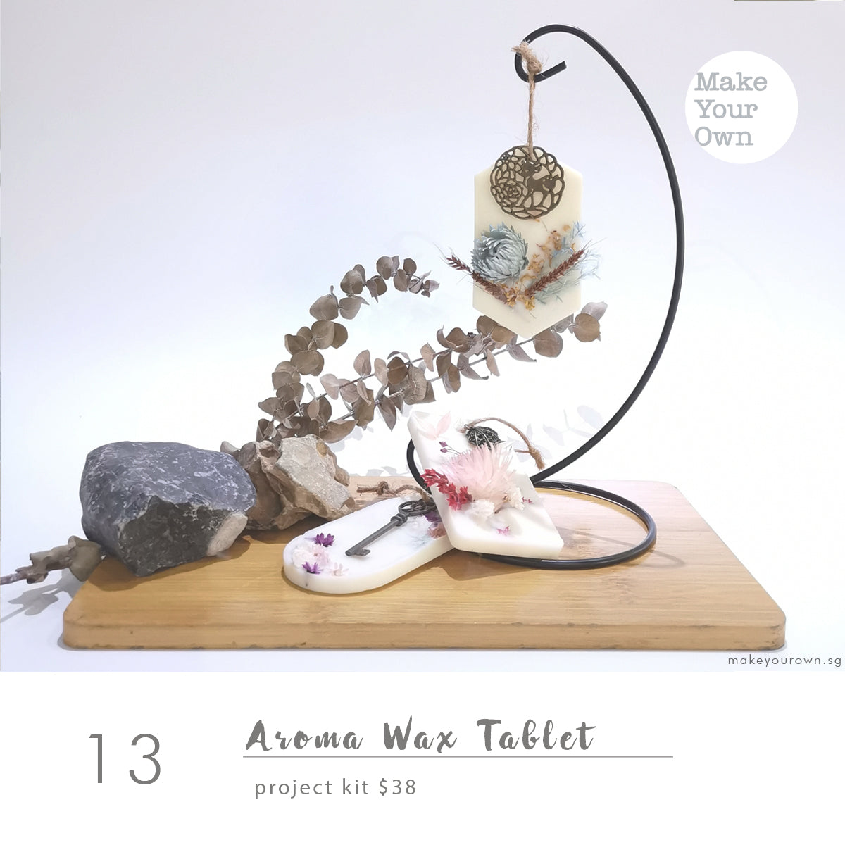 Aroma Wax Tablet Project Kit Workshop (appointment basis)