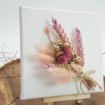 Mother's Day Gift Handmade dried flowers canvas Singapore